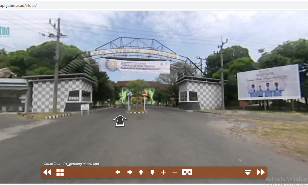 JEJAKATUA : Virtual Tour Kampus UPN Veteran Jatim